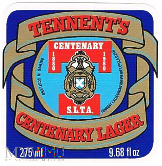 tennent's centenary lager
