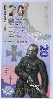 Duże zdjęcie Polska 20 złotych 2020