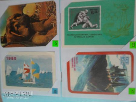 Kalendarzyki 1980