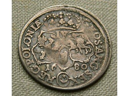 Szóstak m. Bydgoszcz 1680 rok-rzadki