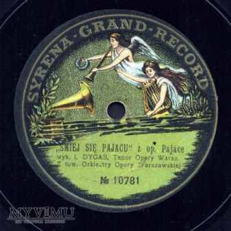 Syrena Grand Record- Ignacy Dygas