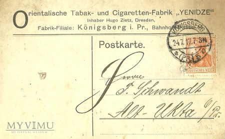 Konigsberg 1917 r.