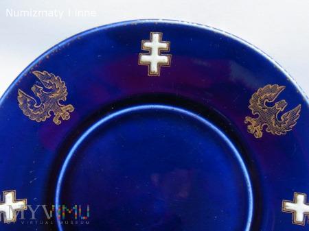 talerzyk błękitny
