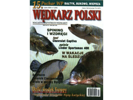 Duże zdjęcie Wędkarz Polski 7-12'2008 (209-214)