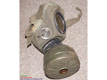 Duże zdjęcie maska pgaz telegrafistów