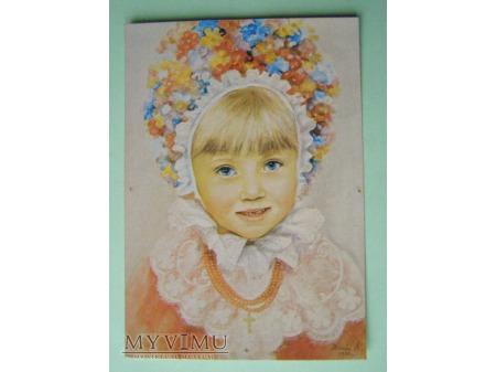 9. Dziewczynka w stroju bamberskim 1979