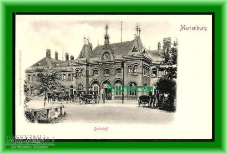 MALBORK Marienburg Dworzec kolejowy