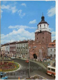Duże zdjęcie Lublin - 1983 - Plac Łokietka Brama Krakowska