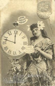 Kobieta i zegar