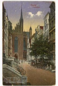 Duże zdjęcie Gdańsk Danzig lata 20-te - ulica Mariacka