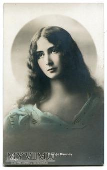 Cléo de Mérode zachwycająca Ballerina Belle époque