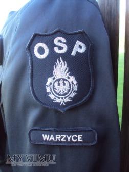 Mundur koszarowy OSP - czarny