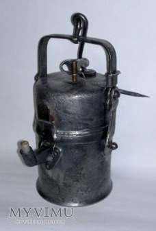Lampa Karbidowa Górnicza typ 850 - Łamana