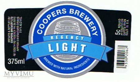 coopers regency light