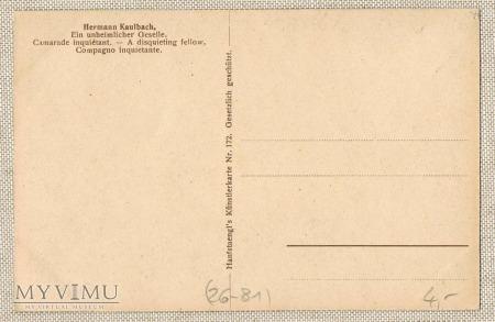 """1920 Hermann Kaulbach:""""złowieszczy kolega"""" dziadek"""