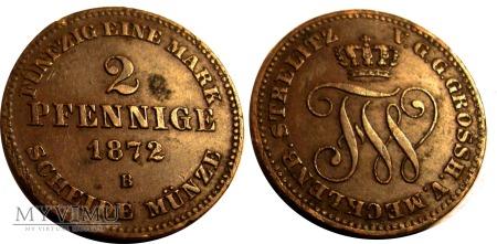 2 pfennige 1872