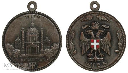 Kościół Św. Karola (Karlskirche) we Wiedniu medal
