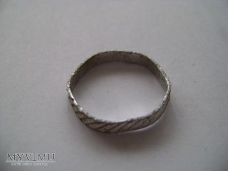 Duże zdjęcie obrączka srebrna