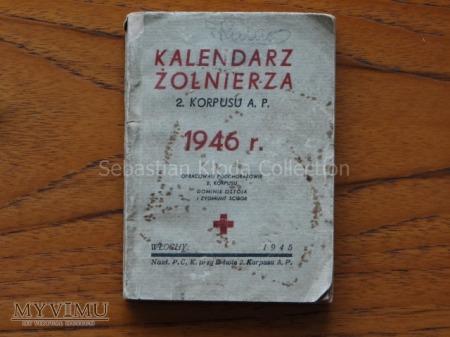 Kalendarz Żołnierza 2. Korpusu A.P.