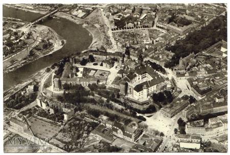 Kraków - Wawel - Widok z lotu ptaka -1922