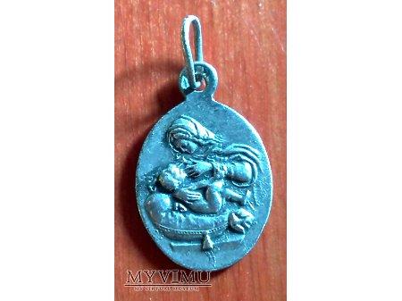 Medalik z Matką Bożą Karmiącą