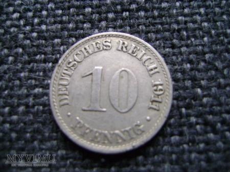 10 pfennigów 1911