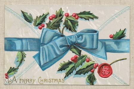 1909 Wesołych Świąt kokarda
