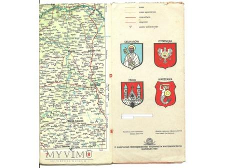 Mapa przeglądowa VIII.