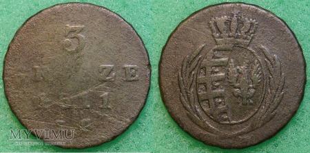 1811, 3 grosze