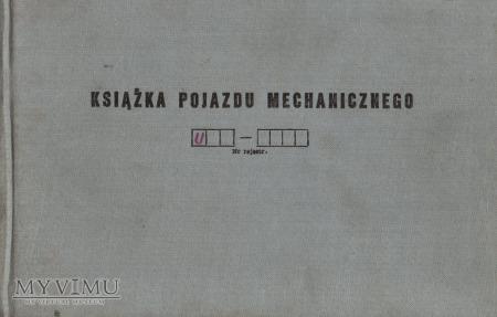 WZT-2. Książka pojazdu z 1979 r.