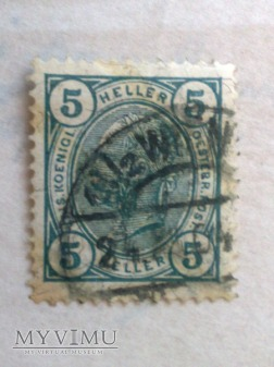 Franz Joseph 1899 5 Halerz austro-węgierski