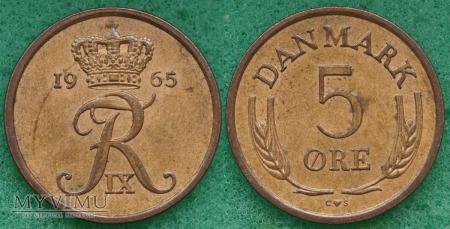Dania, 5 Øre 1965