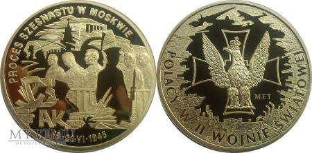 199. Proces Szesnastu w Moskwie - Polacy w II WŚ