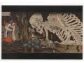 Kuniyoshi - Widmo szkieletu