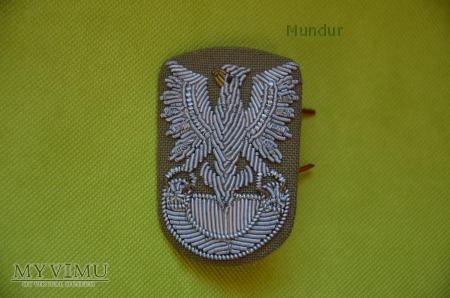Orzełek wz.71 haftowany bajorkiem (tropik)