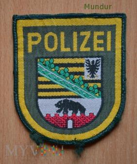 Emblemat Polizei Sachsen-Anhalt
