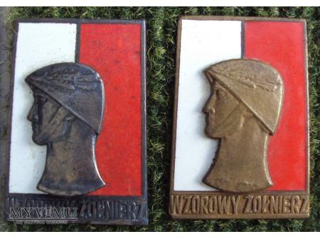 Odznaka Wzorowy Żołnierz wz.61
