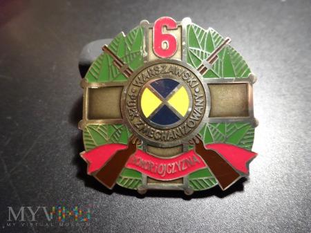 6 Warszawski Pułk Zmechanizowany