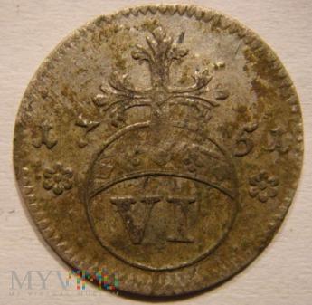 VI Pfennig 1751 Brunswick-Wolfenbüttel