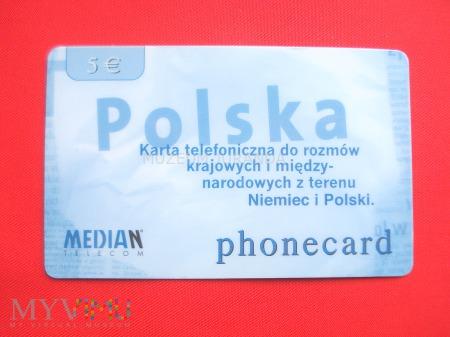 Karta telefoniczna Polska