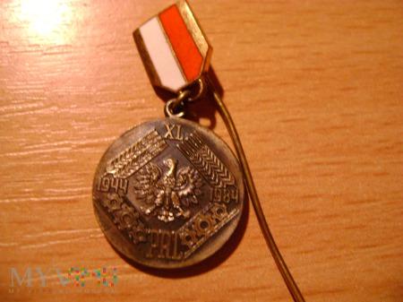 MEDAL 40-LECIA POLSKI LUDOWEJ miniaturka