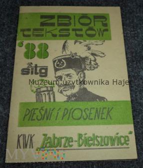 Duże zdjęcie Śpiewnik Górniczy KWK Zabrze Bielszowice 1988