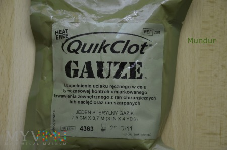 QuikClot Gauze