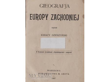 Podręcznik geografii z 1907