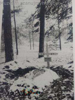 grób niemieckiego żołnierza 1939