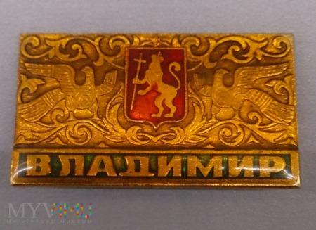 Metalowy znaczek z agrafką