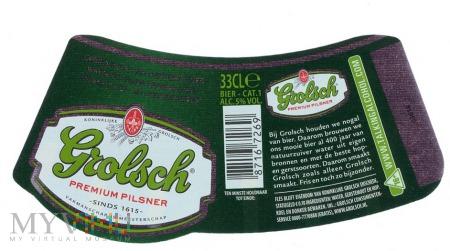Duże zdjęcie Grolsch, Premium Pilsner
