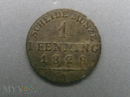 1 fenig 1828