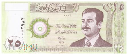 Irak - 25 dinarów (2001)