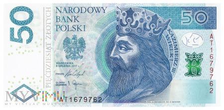 Polska - 50 złotych (2017)